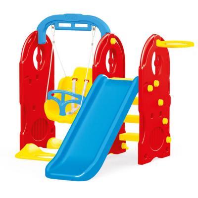 Dolu žaidimų aikštelė vaikams 4-in-1