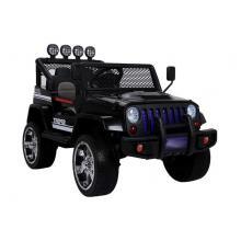 Vaikiškas elektromobilis Jeep 4x4 Black
