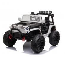 Galingas Elektromobilis vaikui Jeep Policija 2x12V