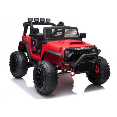 24 voltų vaikiškas elektromobilis džipas Jeep JC666