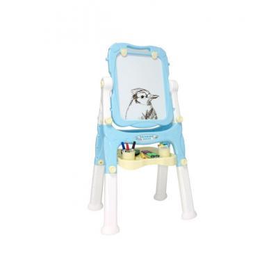 Vaikiška magnetinė piešimo lenta mėlyna