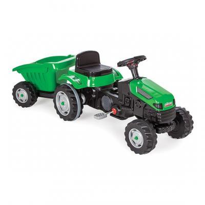 Pilsan minamas traktoriukas su priekaba Green