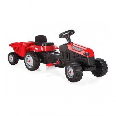 Pilsan minamas traktoriukas su priekaba