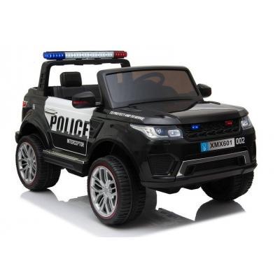 12V Dvivietis Policijos elektromobilis su RC pulteliu